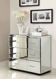Mirrored Nightstands Cheap Luxury Bedroom Design With 3 Shelves Style Mirrored Dresser Cheap