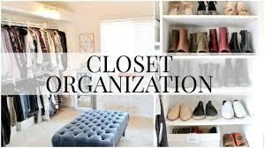 Closet Organization Master Closet Organization Kendra Atkins Youtube