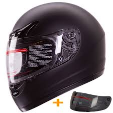motocross helmets with visor amazon com matte black full face motorcycle helmet dot 2 visor