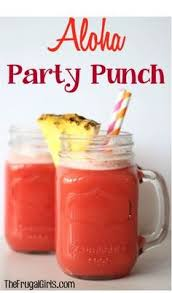 Totally Awesome Party Punch Ideas Cherry Vanilla Party Punch Recipe From Thefrugalgirls Com