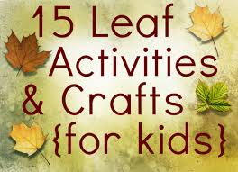 15 leaf crafts activities for