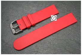 bracelet montre silicone images Bracelet montre caoutchouc italien classique rouge pas silicone jpg