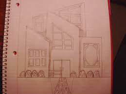 Modern House Drawing by Modern House Sketch By Dancingwaters97 On Deviantart