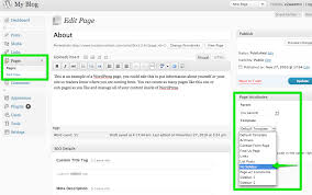 no sidebar creating a page with no sidebar smallbiz theme user guide