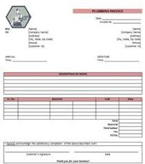 free hvac invoice template download hvac invoice templates