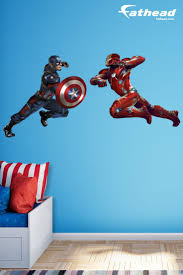 45 best fathead images on pinterest bedroom ideas diy bedroom captain america and iron man will face off in civil war get inspired to face