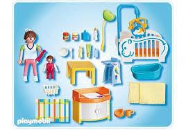 chambre enfant playmobil chambre playmobil une chambre bébé plus vraie que nature