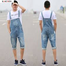 denim jumpsuit mens wholesale arrival 2016 high quality s straps denim