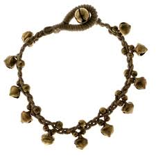 gold cord bracelet images Acorn cord bracelet gray gold tone colored 4177 mi amore jpg