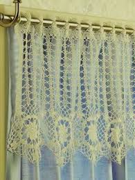 Crochet Kitchen Curtains by Crochet Kitchen Patterns General Patterns Saguaro Valance