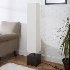 Floor Lamps For Living Room Mainstays Rice Paper Floor Lamp Dark Wood Finish Walmart Com