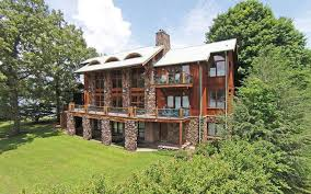 blue ridge mountain lakefront homes for sale