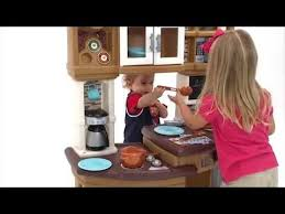 Step2 Party Time Kitchen by Step2 Lil U0027 Chef U0027s Gourmet Kitchen Neutral Youtube