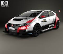 Honda Civic Type R Horsepower Honda Civic Type R Hatchback 2015 3d Model Hum3d
