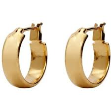 small gold hoop earrings monet earrings small gold tone hoop polyvore