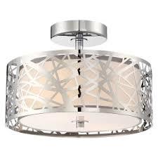 mid century flush mount lighting mid century modern semi flush mount lights hayneedle