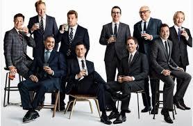 Tina Fey Vanity Fair Pics Vanity Fair Photo Lauding Late Night Hosts Sparks Twitter
