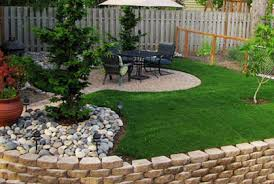 Cheap Garden Design Ideas Garden Landscape Ideas Best  House - Backyard landscape design ideas on a budget