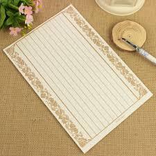 8pcs vintage lace flower writing note letter paper pad antique