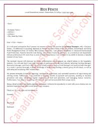 hospitality manager cover letter sle exle