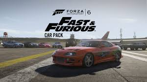 fast and furious 6 cars forza motorsport 6 u0027s fast u0026 furious car pack out now xbox one