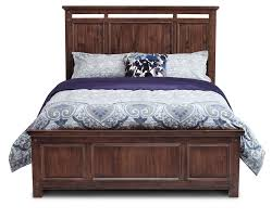 wolf creek panel bed furniture row