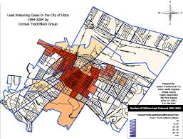 Utica New York Map by The Unspoken Dangers Of Urban Development Lead Poisoning Ghost