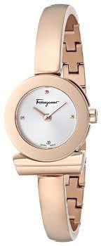 bracelet gold watches images Salvatore ferragamo women 39 s fq5050014 gancino rose jpg