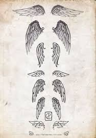 25 unique small angel wing tattoos ideas on pinterest small
