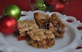 fruitcake bar cookies southern plate