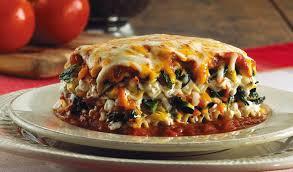 easy veggie lasagna the conscious cook