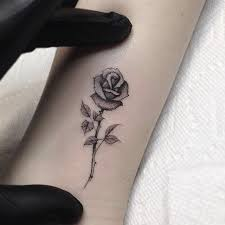 the 25 best small rose tattoos ideas on pinterest small rose