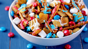 red white and blue chex mix recipe tablespoon com