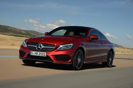 sleek new 2015 mercedes c class coupe to take on bmw 4 series