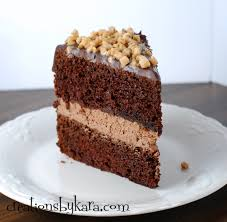 chocolate mousse layer cake 03 creations by kara