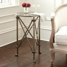 ballard designs end tables olivia mirrored side table ballard designs