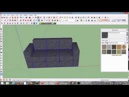 How To Make An Armchair How To Make An Awesome Couch Sketchup Tutorial Youtube