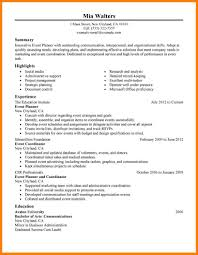 Administrative Coordinator Resume Sample Event Manager Resume Business Family Tree Templates Sample Thank