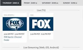 fox sports go app for android us open 2015 updates via fox sports go app product reviews net