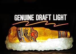 miller genuine draft light miller genuine draft light lighted sign circa 1990 s breweriana