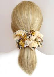 hair chiffon 310 best hair scrunchies images on pinterest