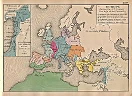 Travel Map Of Europe by 1up Travel Historical Maps Of Europe Europe 12th Century 452k