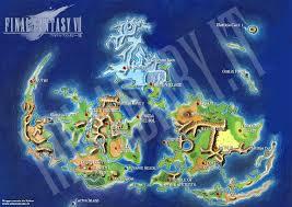 Final Fantasy 1 World Map by Rinoa U0027s Diary Final Fantasy Vii Worldmap