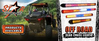 Led Light Bar Utv by Star Light Bars Rear Led Chase Light Bar Dust Light For Utv