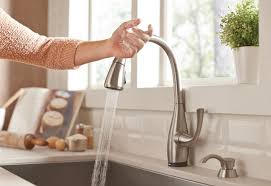 one kitchen faucet how to install a single handle kitchen faucet at the home depot
