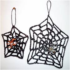 spider web decoration allfreecrochet