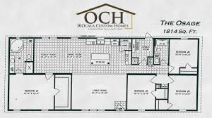 custom homes floor plans ocala custom homes floorplans the osage ocala custom homes