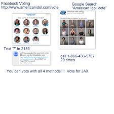 Vote Idol East Brunswick S Jax In Top 10 On American Idol Vote Now East
