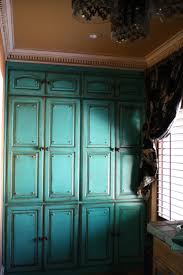 Turquoise Cabinet The 25 Best Distressed Turquoise Furniture Ideas On Pinterest