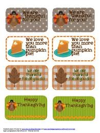 thanksgiving freebie tags for students coworkers friends